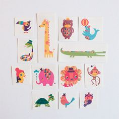 Tattly by Amy Blay. I have ordered several from Tattly. Great quality and design for both kids and I.