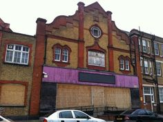 Newham's Abandoned Electric Tram Offices and Repurposed Depot
