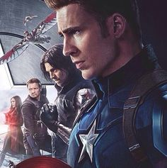 Cap and his team