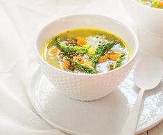 Zimní čočková polévka | Recepty Albert Soup, Ethnic Recipes, Soups, Soup Appetizers