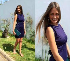 Amina Allam - Cndirect Lace Back Dress, Saint Laurent Clutch, Chanel Sandals - Sleeveless lace-back dress