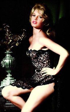 Brigitte Bardot by Peter Basch, 1957
