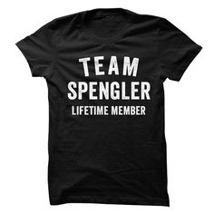 SPENGLER TEAM LIFETIME MEMBER FAMILY NAME LASTNAME T-SHIRT