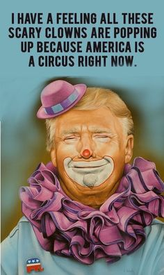 Trump vill prata obamacare med clown