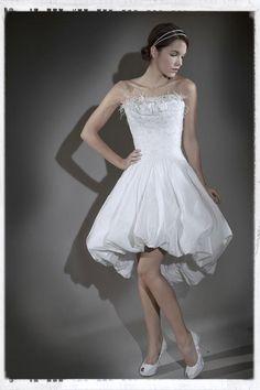 robe de mariée nicolas fafiotte robe boulle en taffetas blanc robe de ...