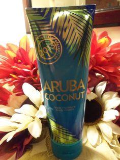 NWT Bath and Body Works ARUBA COCONUT 2013 Body Cream 8 oz. RETIRED & RARE #BathBodyWorks