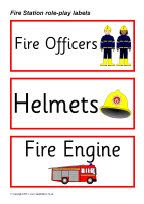 Fire Station role-play pack (SB387) - SparkleBox