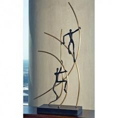 Interior HomeScapes offers the Up Swing by Global Views. Visit our online store to order your Global Views products today. Sculptures For Sale, Zen Art, Golden Globe Award, Home Decor Furniture, Led Furniture, Funky Furniture, Modern Man, Metal Art, Sculpture Art
