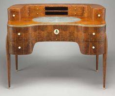 Deco Desk Example 1.  #desk #furniture #design