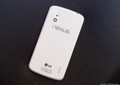 The eye-catching white Nexus 4: http://cnet.co/12Q044M