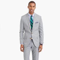 J Crew   Ludlow suit jacket with double vent in Italian wool