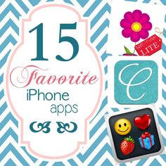 iphone apps {Just a Girl}