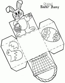 ausmalbilder Hack Darling Daisy into an Easter Basket - One ThimblePattern Hack Darling Daisy into an Easter Basket - One ThimbleDIY Easter Basket Template (easy Easter crafts) - Merriment DesignHow to Easter Basket Template, Easter Templates, Bunny Templates, Bunny Coloring Pages, Pattern Coloring Pages, Easter Colouring, Easter Art, Easter Crafts For Kids, Easter Bunny
