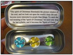 Fridge Magnets - great Christmas or birthday gifts or lesson handouts