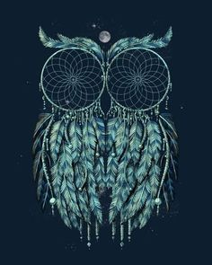 Owl dream catcher. This is amazing!