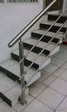Barandales de acero inoxidable Estilo Steel Acero inoxidable ? Diseño y fabricación de barandales de acero y cristal, Muebles ... http://morelia.evisos.com.mx/barandales-de-acero-inoxidable-id-627474