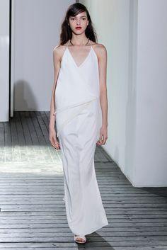Chadwick Bell Spring 2014 #NYFW #white #dress