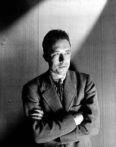 Albert Camus - Algerian-French Nobel Prize winning author, journalist, and philosopher. Photo by Cecil Beaton Book Writer, Book Authors, Books, Francis Huster, Gerald Durrell, Henry Miller, Cecil Beaton, Writers And Poets, Jack Kerouac