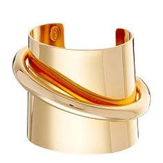 Gold-Plated Cuff - Ralph Lauren Bracelets - RalphLauren.com