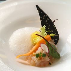 Plate Presentation, Ceviche, Sous Vide, Starters, Food Styling, Panna Cotta, Seafood, Food And Drink, Fish