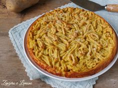 La ricciolina di patate è un vero piatto unico, ricco e saziante che mette tutti d'accordo. Buona da gustare e bella da servire in tavola.