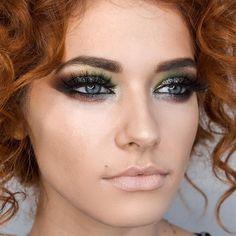 Colour make-up for a ginger girl