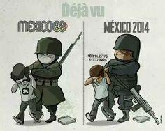 Poco o nada a cambiado. Como dueles Mexico de mis amores.