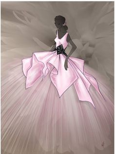 P E T E R  Langner's 25th Anniversary • S/S Couture Ball Gown 2017 @vrossdesign #FashionIllustrations| Be Inspirational ❥|Mz. Manerz: Being well dressed is a beautiful form of confidence, happiness & politeness
