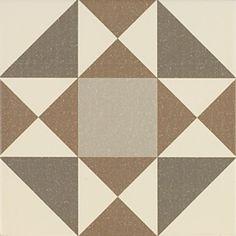 Carrelage imitation carreaux ciment sisal beige