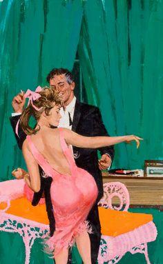 "Search Results for ""sex"" – Pulp Covers Art Vintage, Photo Vintage, Vintage Romance, 60s Art, Retro Art, Vintage Couples, Guys And Dolls, Pulp Magazine, Pulp Art"