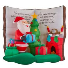 67 Christmas Inflatables Ideas In 2021 Christmas Inflatables Inflatable Santa Inflatables