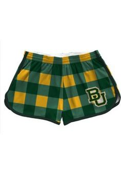 Now those are #Baylor Proud shorts! // Baylor University Women's Shorts from League Collegiate Wear, available at the Baylor Bookstore