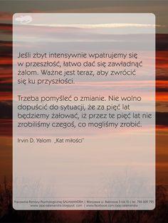 Pracownia Pomocy Psychologicznej SALAMANDRA - dobry psycholog Warszawa zachęca do zmian