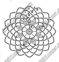 Transcendent Crochet a Solid Granny Square Ideas. Inconceivable Crochet a Solid Granny Square Ideas. Crochet Dreamcatcher Pattern, Crochet Mandala Pattern, Crochet Circles, Crochet Buttons, Crochet Flower Patterns, Crochet Diagram, Crochet Chart, Crochet Squares, Crochet Granny