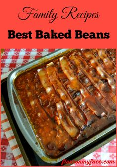 Baked Beans recipe, baked beans, family recipes, bbq side dish,