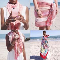 Check out the #beach essentials inspired by #Positano #italy at my boutique! http://www.chloeandisabel.com/boutique/zoeemily #chloeandisabel #summer #amalficoast #pink #sun #ocean #girl #iphone #towel #scarf #turquoise #party