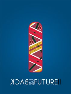 BACK to the FUTURE II Minimalist Film/Movie Poster  by BCCreate, $20.00
