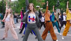 Image result for pantsuit power dance