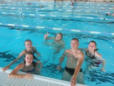 Pływanie nie tylko w morzu :)  #sport #pływanie #zabawa #basen