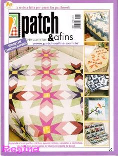 Patch & afins 38 - Jozinha Patch - Álbuns da web do Picasa Sewing Magazines, Web Gallery, Book Quilt, Bargello, Books To Buy, Quilting, Book Crafts, Patches, Albums