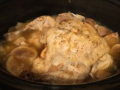Slow Cooked Citrus Garlic Chicken – Let the Slow Cooker Work It's Magic! | Inside Kel's Kitchen