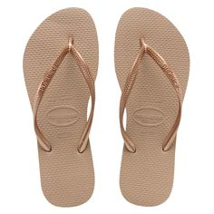 havaianas rose gold slim - Google Search