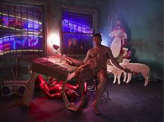 LaChapelle Studio - Series - If No Other Would Be Aware I Sit Content
