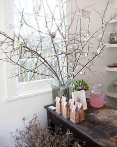 winter blossom high tea