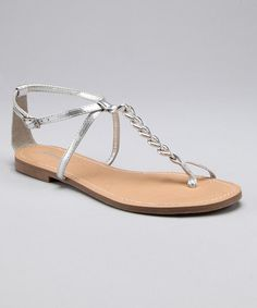 silver sandals for bridesmaids