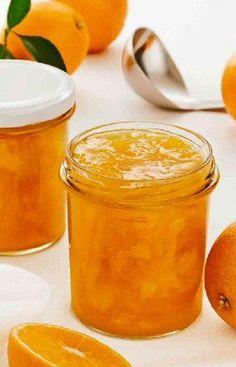 Orangenmarmelade - New Ideas Orange Jam Recipes, Fruit Recipes, Sweet Recipes, Drink Recipes, Orange Marmalade Recipe, Marmalade Jam, Chutneys, Holiday Party Appetizers, Sweet Butter