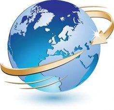 3D wereldbol vector pictogram aardbol vector ai, adobe photoshop illustrator wereld ai design, blauw marmer vector ai illustrator