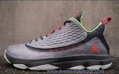 huge selection of 97135 e6663 Jordan CP3.VI AE 580580-033 Wolf Grey Bright Crimson-Dark Grey-