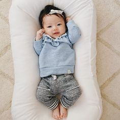 21 Ideas Baby Girl Ulzzang Name For 2019 The Babys, Baby Outfits, Kids Outfits, Korean Babies, Asian Babies, Baby Girl Bows, Newborn Baby Girls, Newborn Baby Clothes, Baby Kind