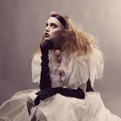 Aescape Photography aka Catrine Zorn - Ida Louise, Pierrot & les macarons